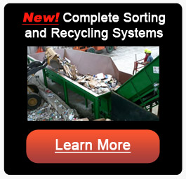 complete sorting and recycling systems
