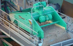 Direct Drive Vibrating Screens