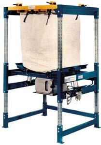 2500 lb capacity bulk bag unloader