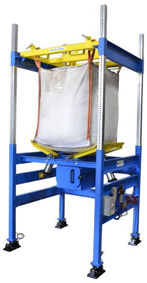 2500 pound capacity bulk bag unloader