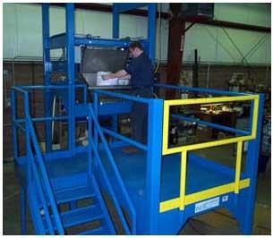 bag dump station bulk bag unloader combo