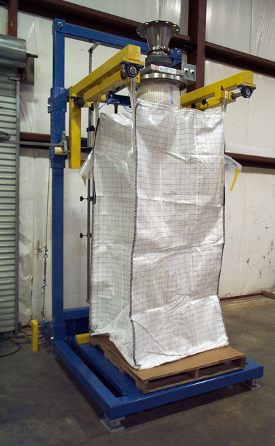 Bulk Bag Filler For Filling 1000 4000 Lb Bulk Bags