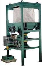 4000 lb capacity bulk bag unloader with vibrating motor