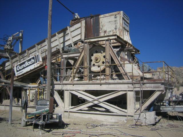 Limestone Quarry Crusher