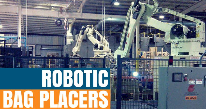 robotic bag placer for pallets