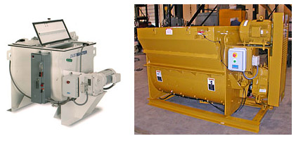 8 cu. ft. and 30 cu. ft. Refractory Mixers