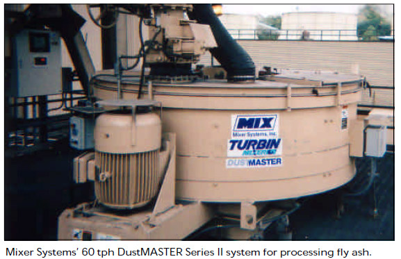 Fly Ash Dust Conditioner