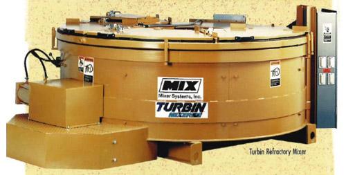 Turbin Refractory Mixers