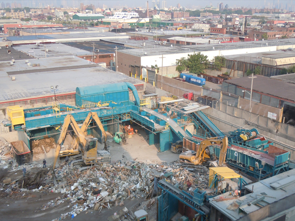 construction demolition recycling facility
