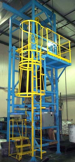 Carbon Black Batching System with Bulk Bag Unloading Station