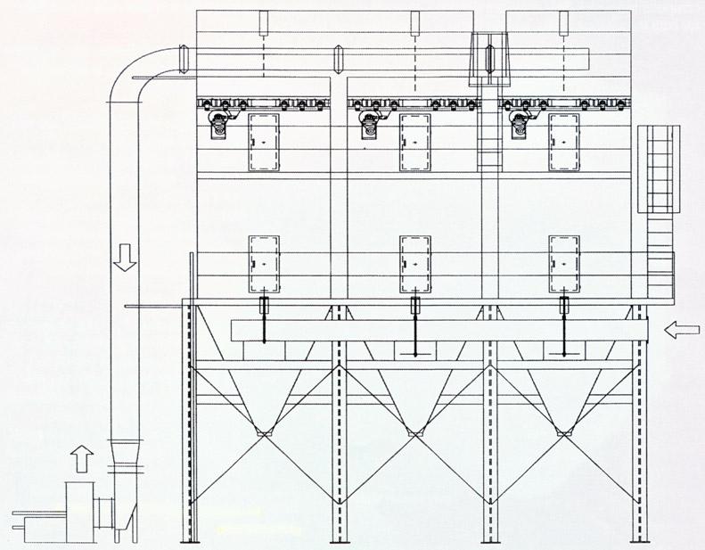 Mechanical Shaker Baghouse