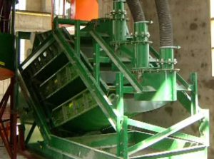 3 screen deck configuration for mineral processing