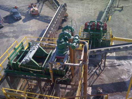 Ashphalt Sand Production Dewatering Screen and Dryer