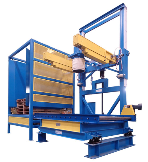 Bulk Bag Filler with Wooden Pallet Dispenser