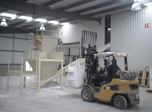 bulk bag filling to valve bag filling