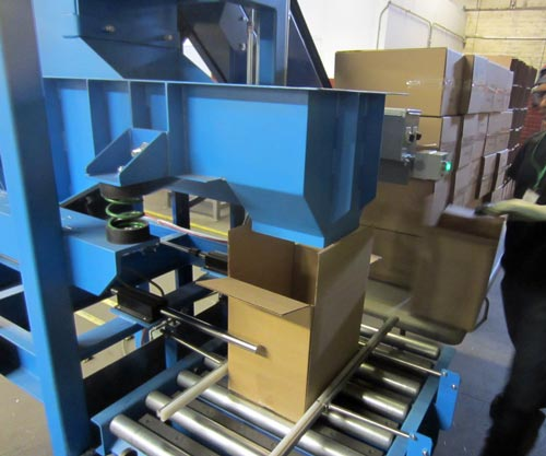 box-filling-system-vibratory-table