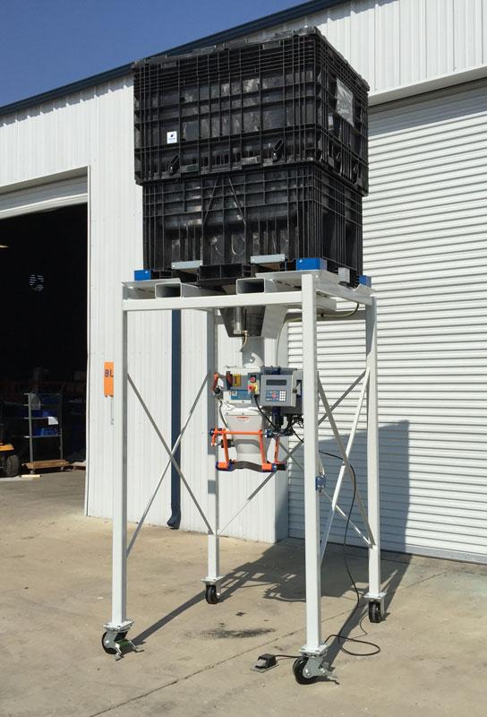 Bagging Corn Seed Buckhorn Probox Container To Bag