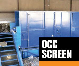 OCC Screen for Recycling Systems