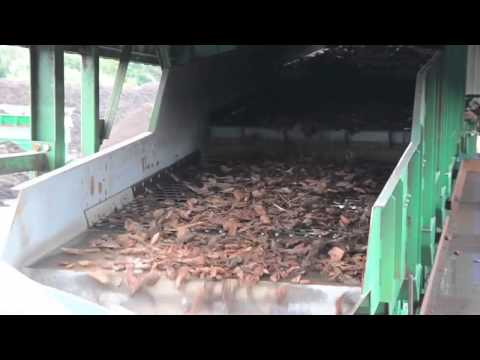 Waste Wood Recycling - Screening & Sorting
