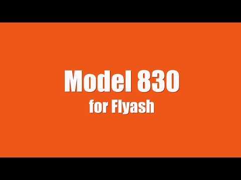 Model 830 for Flyash