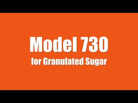 Fully Automated Model 730 for Granulated Sugar