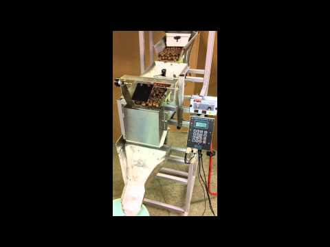 Candy Filling Machine: Logical Machines Model S-6 running 6 oz malted milk balls