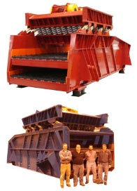 Two Mass Vibratory Screens