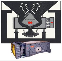 Uncoaler Bin Activator Feeder
