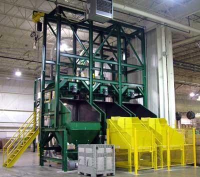 bulk bag unloader stations
