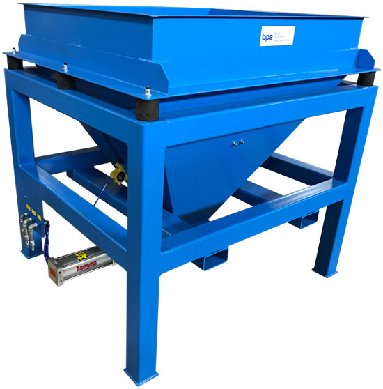Portable Bulk Bag Unloader Hopper