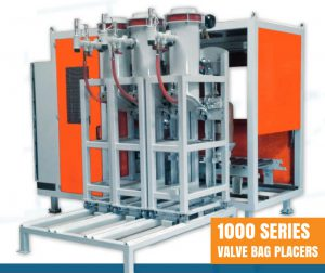 Automatic Valve Bag Placer with Filling Machines