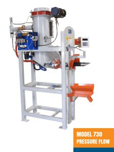 Valve Bag Filling Machine - Model 730 Pressure Flow Air