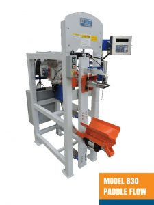 Valve Bag Filling Machine - Model 830 Paddle Flow Impeller Air