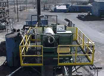 carbon black feed stock solids separator