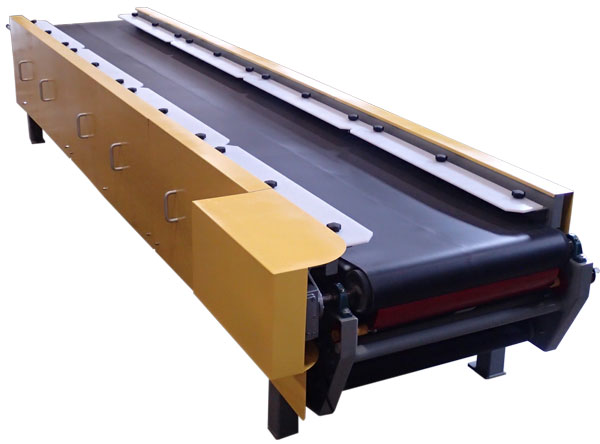 vibrating conveyor belt table