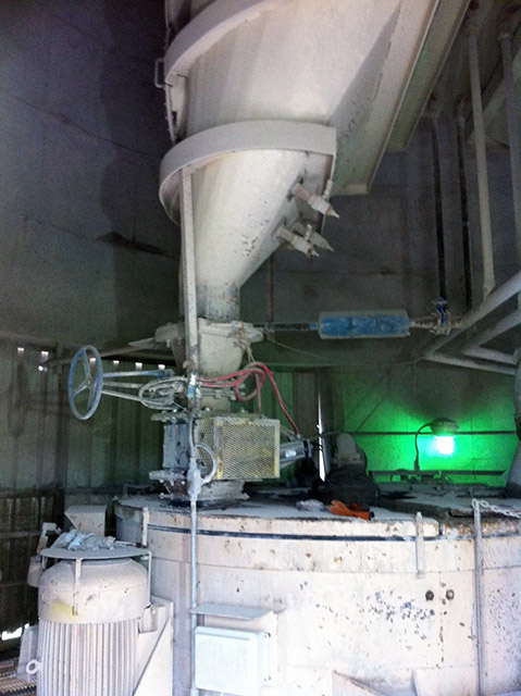 Cement Kilns In Texas : Dust conditioners mixers