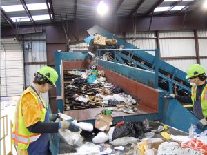 Conveyor and pick station