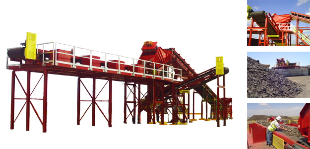 Picture of C&D Recycling System