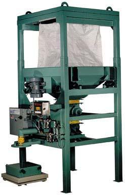 bulk bag unloader for chopped strand fiberglass