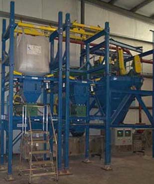 Bulk Bag Unloading Stations for Batching System