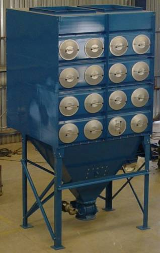 Cartridge Style Industrial Dust Collectors