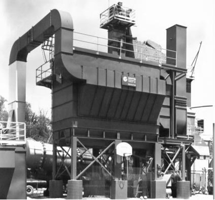 Industrial Baghouse for Asphalt Production