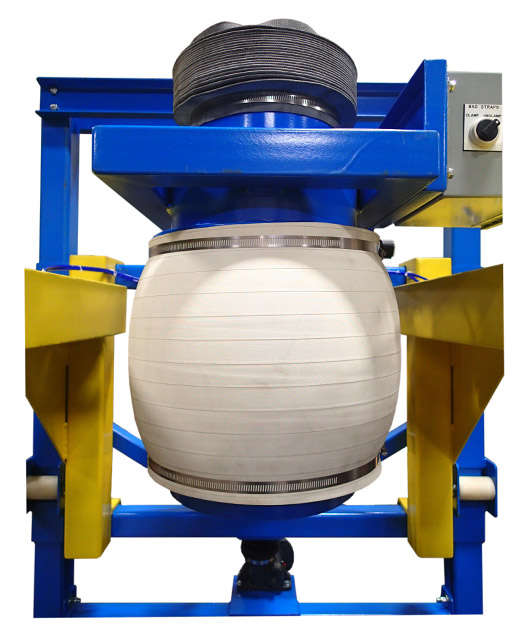 Bulk Bag Filling - Fill Head Inflated