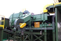 de stoner air classifier for construction demolition waste recycling