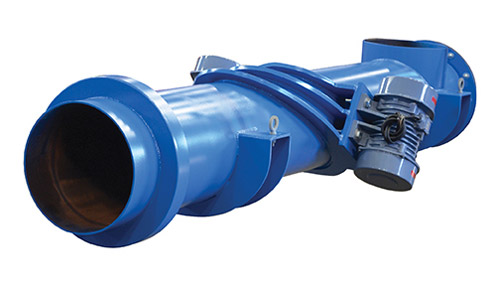 Vibrating Tube Feeder Enclosed