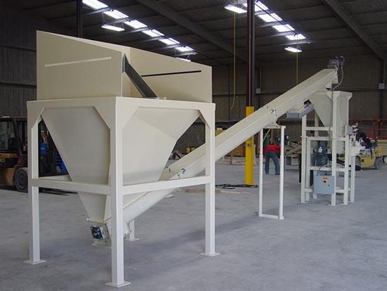 bulk bag to valve bag system