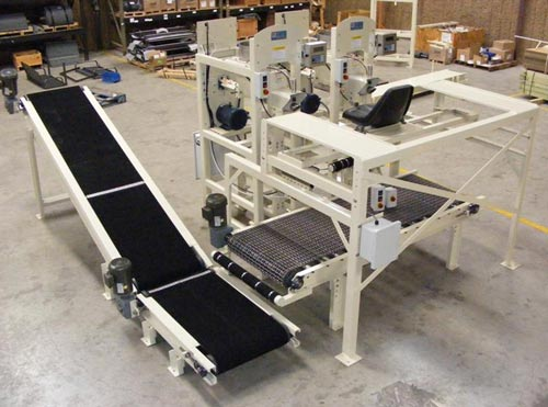 Dual or Side by Side Valve Bag Packing Machine 001