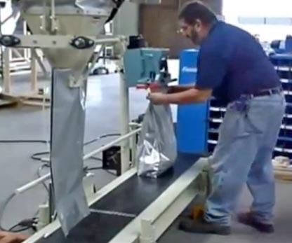 Filled Bag Heat Sealing System