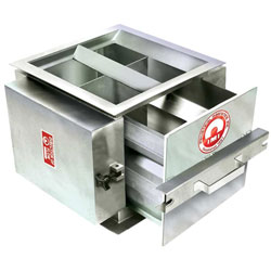 industrial extractor and split flow magnets