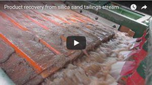 Product-recovery-from-silica-sand-tailings-stream